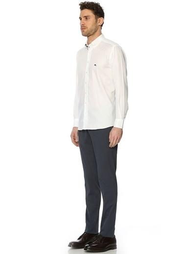 Uzun Kollu Klasik Gömlek-Etro